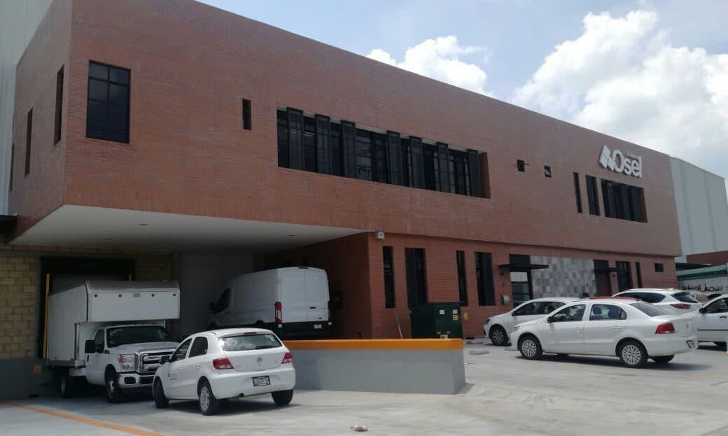 exterior fachada bodega industrial pinturas osel