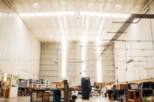 interior naves industriales para empresas