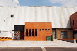 bodega industrial exterior fachada condominio industrial santa cuz