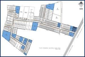 mapa general de plano de condominio industrial santa cruz