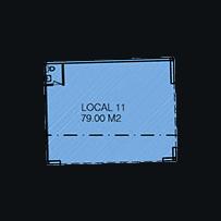 pequeño croquis local 11