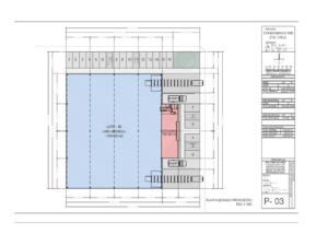 mapa lote 48 bodega en renta condominio industrial santa cruz