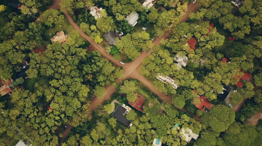 terrenos vista aerea