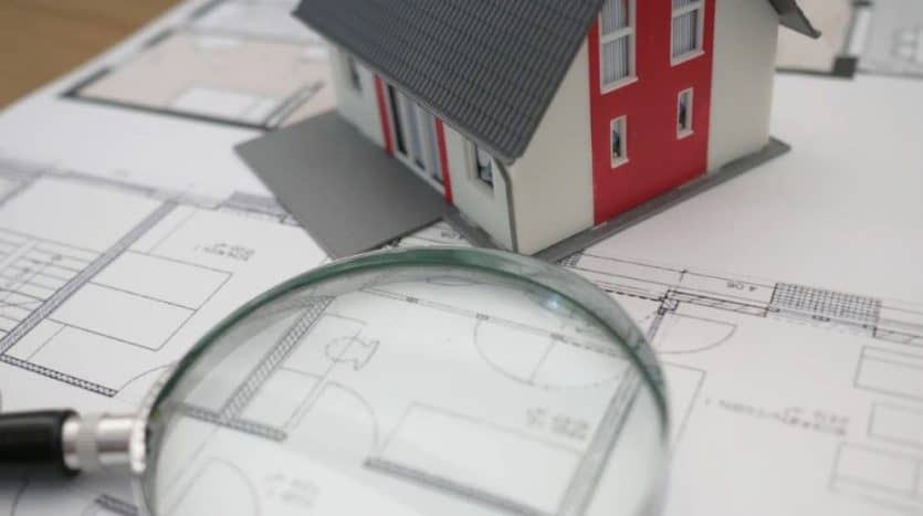 maqueta de casa habitacional inmobiliaria