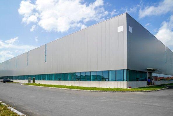 Exterior de parque industrial en Guadalajara