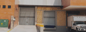 fachada de nave industrial