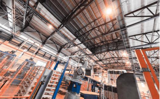 interior de nave industrial